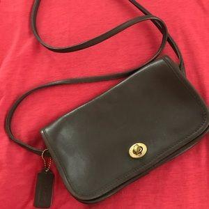 Vintage Coach cross body purse